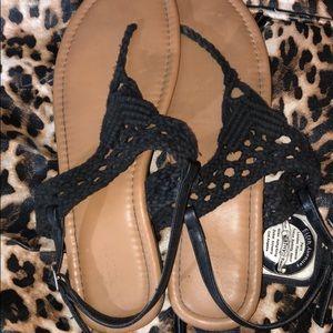 Torrid sandals 12 wide